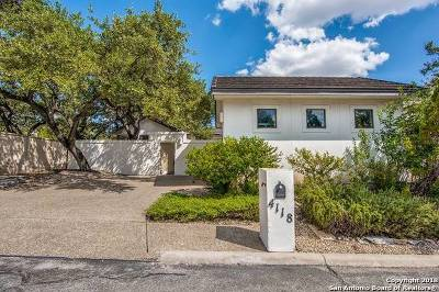 San Antonio Single Family Home New: 4118 Cliff Oaks St