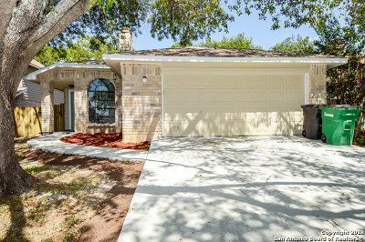San Antonio Single Family Home New: 14926 Summer Susie