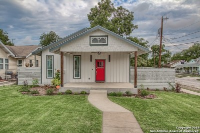 San Antonio Single Family Home New: 1227 Nolan St