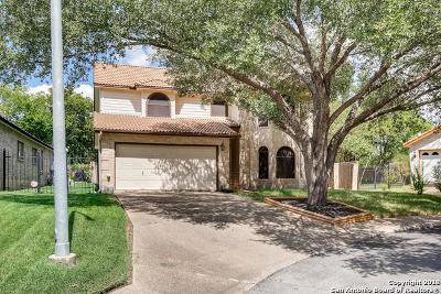 San Antonio Single Family Home New: 7405 John Miller Ct