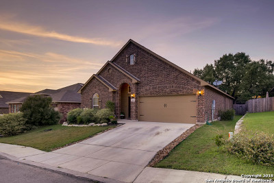 Boerne Single Family Home New: 7635 Mission Smt