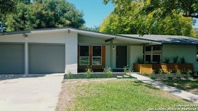 San Antonio Single Family Home New: 107 Springwood Ln