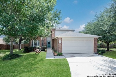 Schertz Single Family Home New: 1504 Rainy Brook