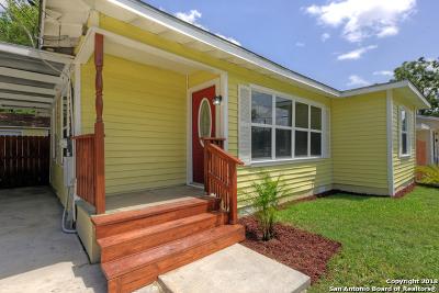 San Antonio Single Family Home New: 1407 El Monte Blvd