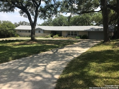 San Antonio Single Family Home For Sale: 6842 Willow Oak St