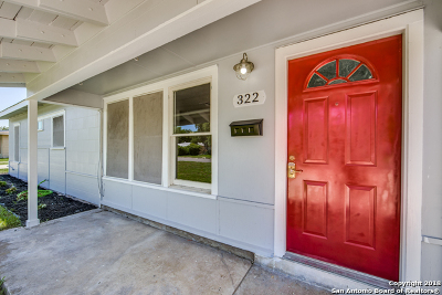 San Antonio Single Family Home New: 322 E Palfrey St
