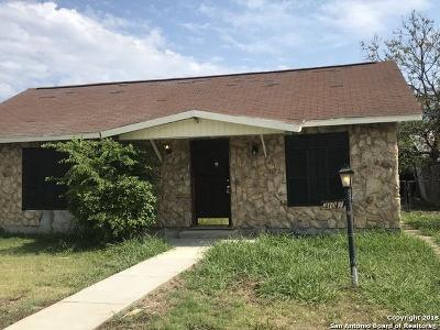 San Antonio Single Family Home New: 4107 W Salinas St