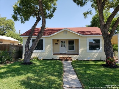 San Antonio Single Family Home New: 1321 W Mariposa Dr