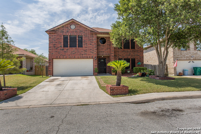 Bexar County Single Family Home New: 8203 Cantura Mills
