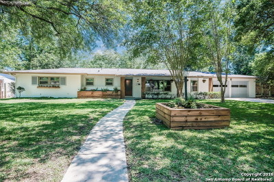San Antonio Single Family Home New: 114 Wyndale Dr
