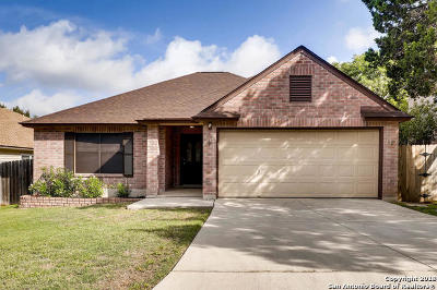 San Antonio Single Family Home New: 15942 Watering Point Dr