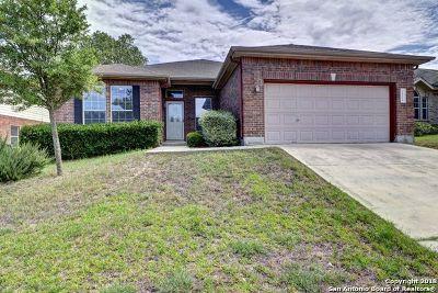 San Antonio Single Family Home New: 26118 Upton Cv