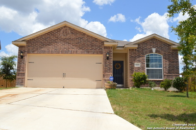 San Antonio Single Family Home New: 12223 Stratsburg