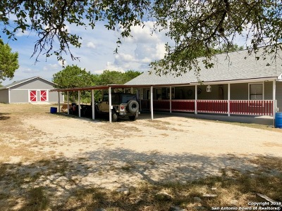 Mico Single Family Home For Sale: 295 County Road 254