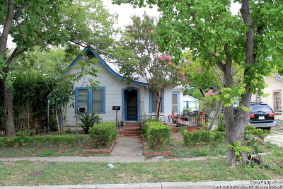 San Antonio Single Family Home New: 1115 W Rosewood Ave
