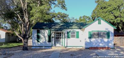 Hondo Single Family Home For Sale: 2508 Avenue I