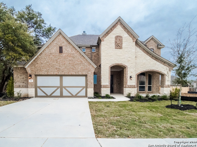 Boerne Single Family Home New: 114 Stablewood