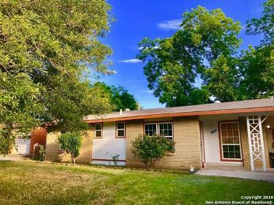 San Antonio Single Family Home For Sale: 278 Hatcher Ave
