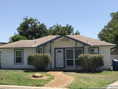 San Antonio TX Single Family Home New: $125,500