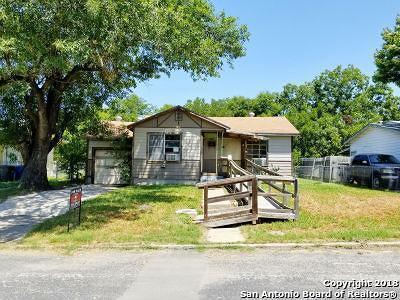 San Antonio TX Single Family Home New: $59,900