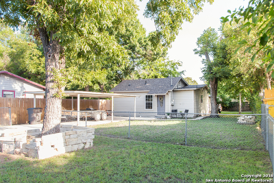 San Antonio Single Family Home Back on Market: 2122 Hays St