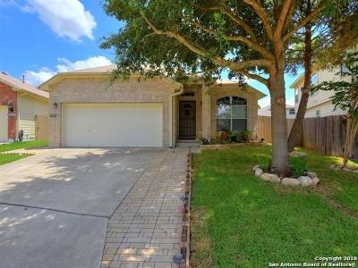 San Antonio Single Family Home New: 6018 Wood Pass