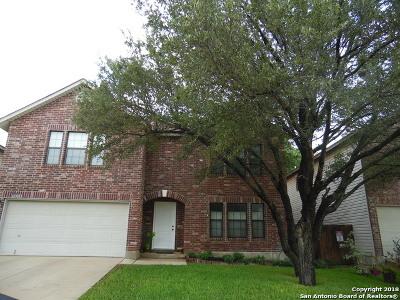 San Antonio Single Family Home New: 11523 Lands Pond