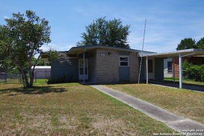San Antonio TX Single Family Home Price Change: $125,000