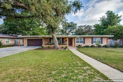 San Antonio Single Family Home New: 511 Rockhill Dr