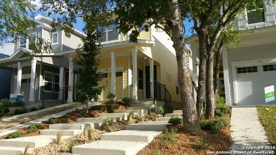 Bexar County Single Family Home New: 333 Claremont