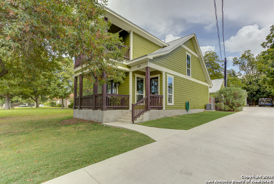 New Braunfels Single Family Home For Sale: 1177 Stonewall St