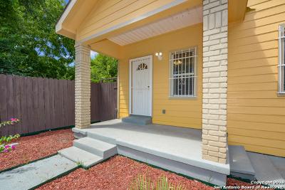 San Antonio Single Family Home New: 1617 Montezuma St