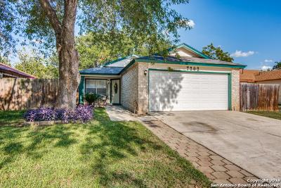 San Antonio Single Family Home New: 7262 Brandyridge