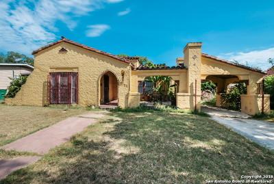 San Antonio Single Family Home New: 1323 Fulton Ave