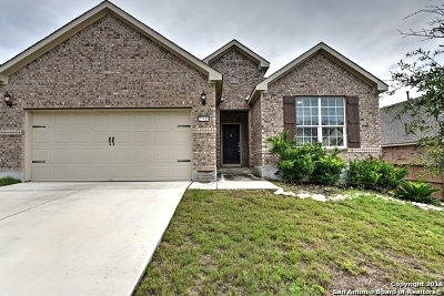 Boerne Single Family Home New: 27415 Valle Bluff