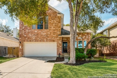 San Antonio Single Family Home Price Change: 13811 Morningbluff Dr