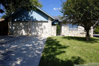 Schertz Single Family Home For Sale: 3800 Overlook Dr