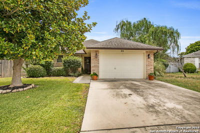 New Braunfels Single Family Home Active Option: 26 Shadow Circle