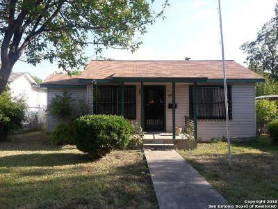 San Antonio Single Family Home Back on Market: 2829 W Mistletoe Ave