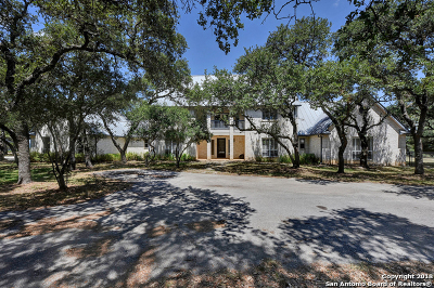 Canyon Lake Single Family Home Active Option: 510 Demi John Bend Rd