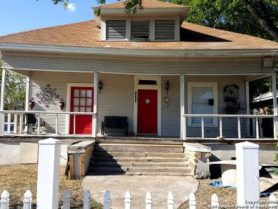San Antonio Single Family Home Back on Market: 3035 W Commerce St