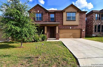 San Antonio Single Family Home Price Change: 4522 Bexley Trail