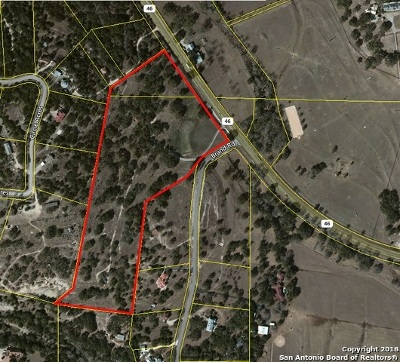 Bulverde Residential Lots & Land For Sale: 23851 W Highway 46