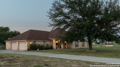 La Vernia Single Family Home For Sale: 505 Lake Valley Dr