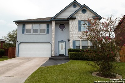 Converse Single Family Home Price Change: 7718 Fairton Pl