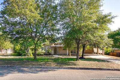 Bexar County Single Family Home Back on Market: 526 Lookout Dr