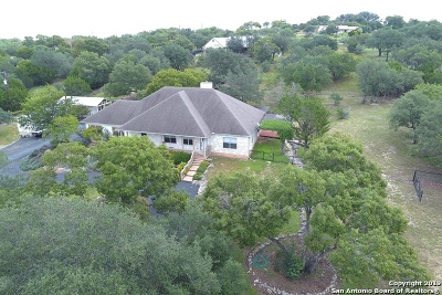 Boerne Single Family Home For Sale: 607 Pleasant Valley Dr N