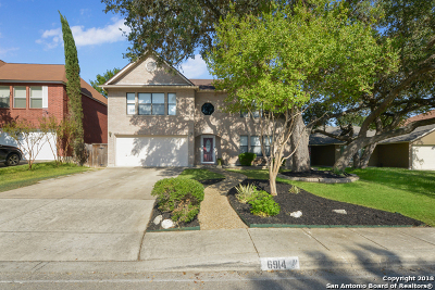 San Antonio Single Family Home Active Option: 6914 Barkley Trl