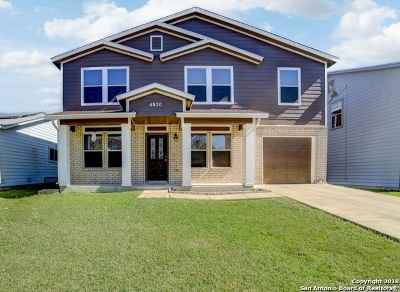 Single Family Home For Sale: 4930 Heather Pass