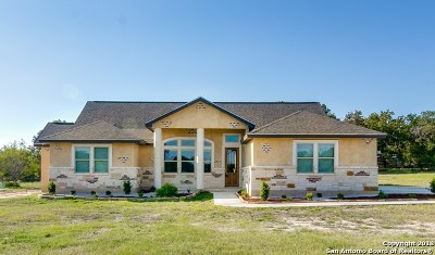 La Vernia Single Family Home For Sale: 119 Champions Blvd